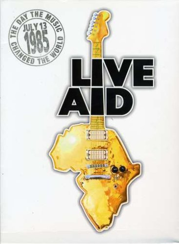 Live Aid  (4 Disc Set) by Alfred Music