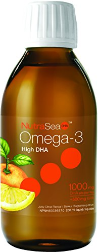 Nutra Sea DHA Citrus Flavour (200mL=6.6oz) NutraSea by As...