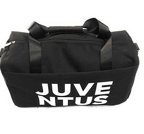 Fc Juventus Borsa Da Viaggio Sport Logo Retro 13753 - ? Nero