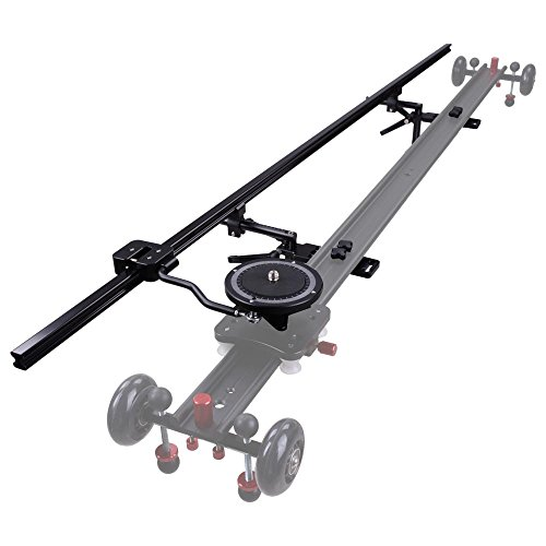 AW Pro 32''(80cm) Aluminum Focus Track Slider Movie Shooting Camera Video Stabilizer Film-making by AW