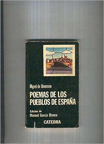 Poemas de los Pueblos de España: Amazon.es: Miguel de Unamuno: Libros