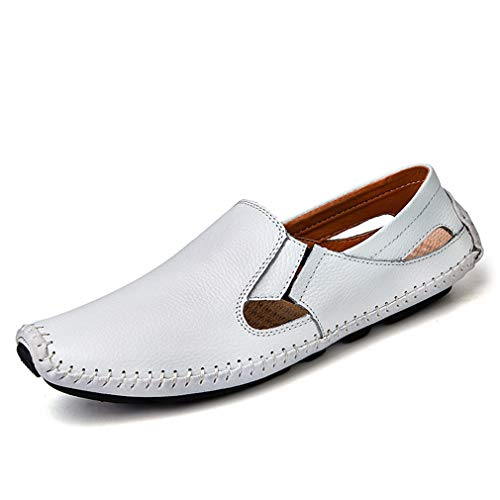Gfphfm Herrenschuhe, Mode Komfort Casual Lazy Schuhe 2019 Leder-Erbsenschuhe Loafers Loafers Loafers & Slip-Ons,B,42 76d905