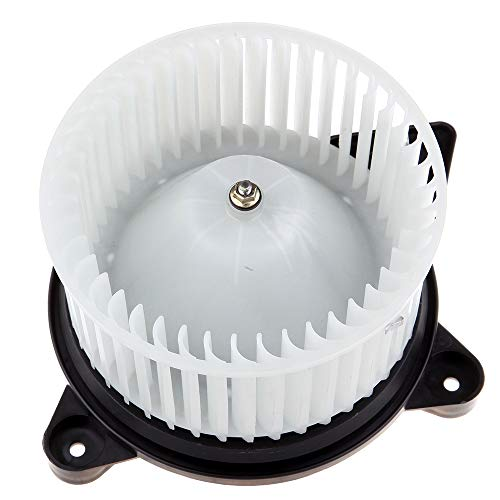 ECCPP HVAC Plastic Heater Blower Motor w/Fan Cage fit for 2001-2006 Chrysler Sebring /2001-2006 Dodge Stratus