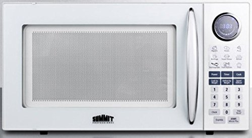 - Summit SM1102WH Microwave, White