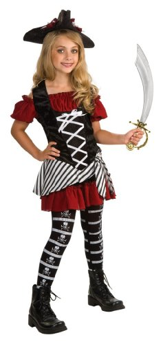 Rubie's Drama Queens Tween Black Pearl Pirate Costume - Tween Medium -