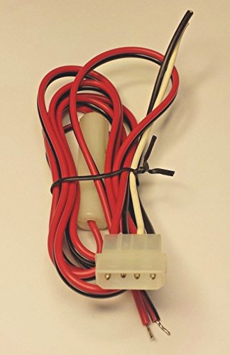 CBK Supply - Cea-MC625 4-pin 12VDC powercord Uniden President Marine Vhf LTD715 MC635 MC1010
