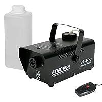 Atmotech 400W Halloween Fog Smoke Machine With Smoke Fluid Bundle