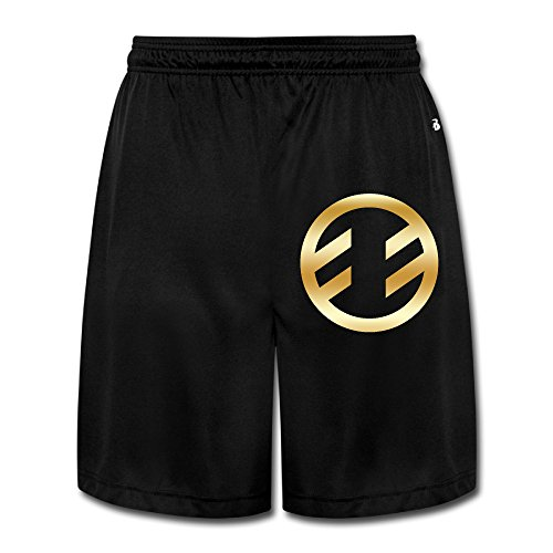 Men's Fireflight Band Gold Logo Running Pants Shorts Black (Wendy Adams Family)