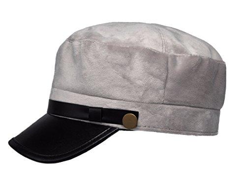 Adult Newsboy Hat (Unisex Adult Newsboy Cap (Wool Grey))