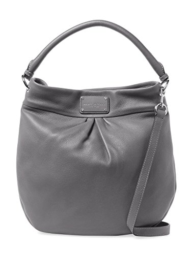 Marc by Marc Jacobs Hillier Leather Handbag (Faded Aluminum/ Sliver) by Marc by Marc Jacobs