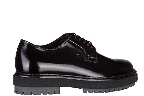 Tod's clásico zapatos de cordones hombres en piel nuevo derby fondo extra light