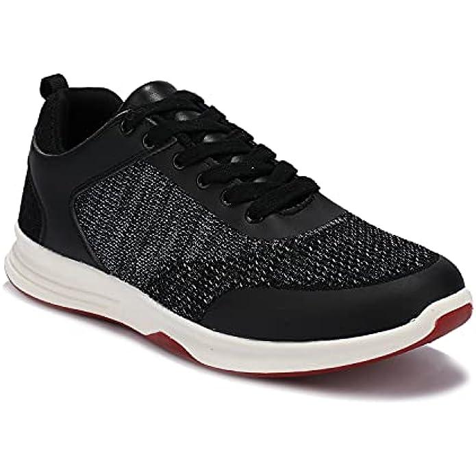 UUBARIS Men's Walking Shoes Non-Slip Fashion Sneakers Working Casual Shoes