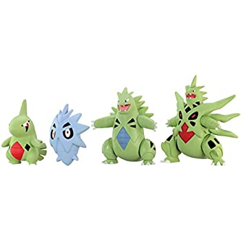 takaratomy pokemon xy monster collection mega evolution sinker 2 mega tyranitar action figure pack