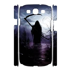 HOPPYS Grim Reaper Customized Hard 3D Case For Samsung Galaxy S3 I9300