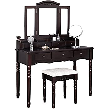 Amazon Com Charlotte 2 Piece Vanity Set With Power Strip