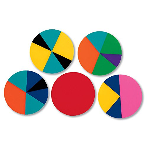 - hand2mind Deluxe Rainbow Fraction Circles