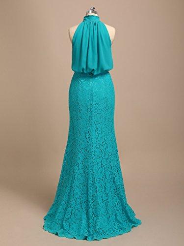 Dresses Party Dress Chiffon Dark Maxi Formal Navy Alicepub Lace Evening Bridesmaid Long XtzqvwCx