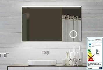 espejo del bao espejo con luz led de diseo para bao con espejo para maquillaje con