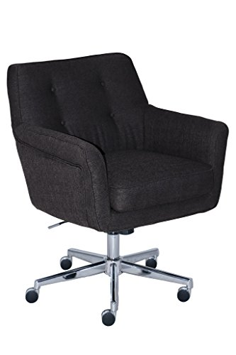 Style Desk (Serta Style Ashland Home Office Chair, Twill Fabric, Graphite)