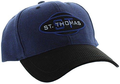 新しい。セントトーマスAdjustable Back Hat Curved Bill刺繍キャップ   B01H7MWEI4