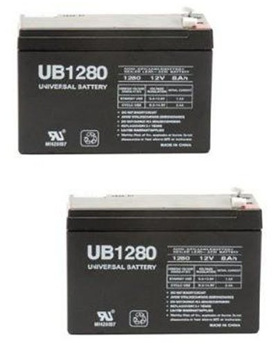 UPG - NEW - REPLACEMENT UPS BATTERY FOR APC RBC2 - SLA2-BTI - 2 Pack - UB1280MP216 -
