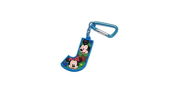 Mickey Mouse y sus amigos de la letra J Laser Cut Llavero ...