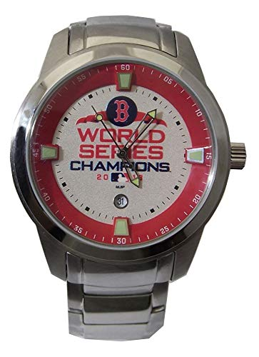 Boston Red Sox Watch 2018 World Series Titan Mens Date Wristwatch