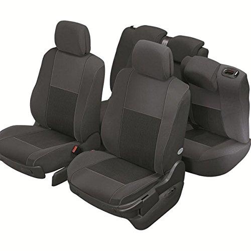 A Medida DBS 19691 Fundas de asientos de Coche Compatible Airbag Acabado de coche de alta gama Instalaci/ón r/ápida Isofix