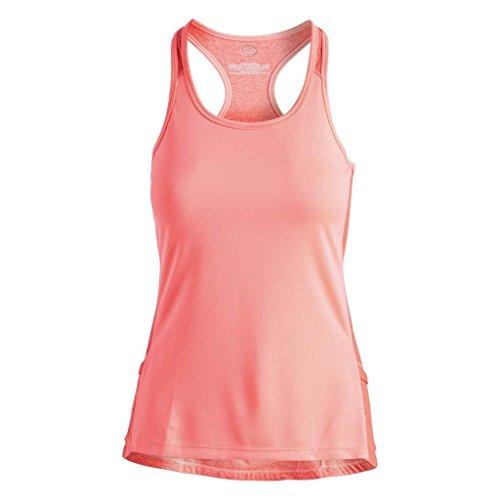105c07485ca259 Zuma Blu Women s Racerback Tank Top with Pockets - Graphic Print Sleeveless  Active Shirt for Cycling