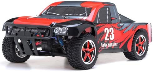 9269807800 Exceed RC 1/10th 2.4Ghz Brushless Rally Monster Electric RTR Racing Truck (DD Red) 41U4n2oIyOL.