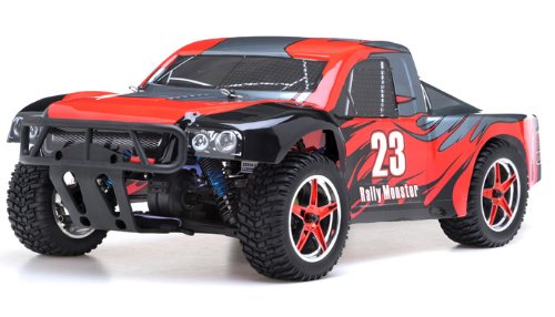 ess Exceed RC Rally Monster Electric RTR Racing Truck (DD Red) ()