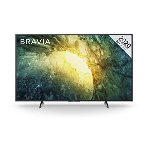 Sony BRAVIA KD55X70 – 55-inch – LED – 4K Ultra HD (UHD) – High Dynamic Range (HDR) – Smart TV with Freeview Play (Black…