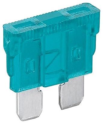 Fixpoint 20387 Kfz-Sicherungssortiment Mini, 5 A, Orange (6-er pack) 0000