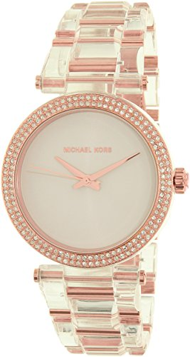 Michael Kors Women's Delray Rose Gold-Tone Watch MK4318