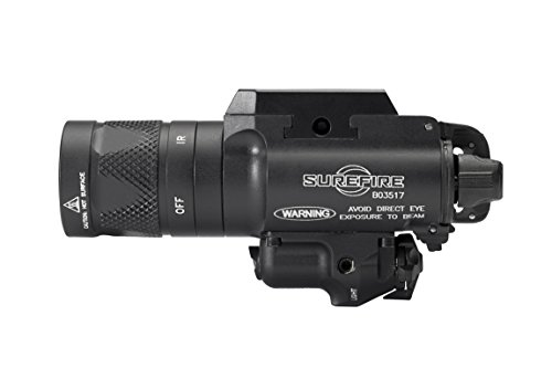 SureFire X400V IRc LED Handgun or Long Gun WeaponLight with IR Output and Infrared Laser Sight by SureFire (Image #5)