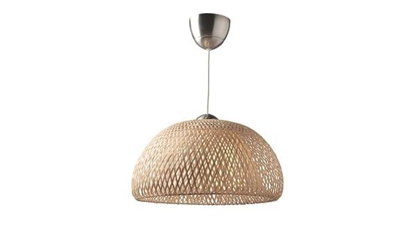 Ikea - Lámpara de Techo, diseño de bambú de ratán: Amazon.es: Juguetes y juegos