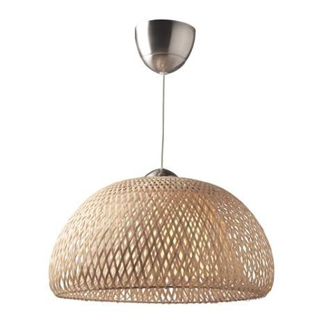 Graceful diseño böja lámpara de techo, ratán: Amazon.es ...