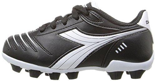 Diadora Kids' Cattura MD Jr Soccer Shoe, Black/White, 11 M US Little Kid by Diadora (Image #5)