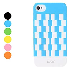Magic Cube Pattern Hard Case for iPhone 4 and 4S (Assorted Colors) --- COLOR:Orange
