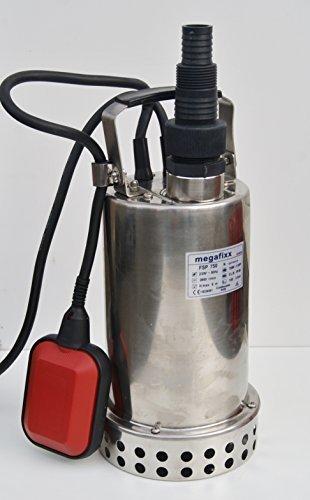 FSP 750 inox - Bomba sumergible Faston Auger Bomba hasta 9000 L./STD 15 metros de cable de corriente: Amazon.es: Bricolaje y herramientas