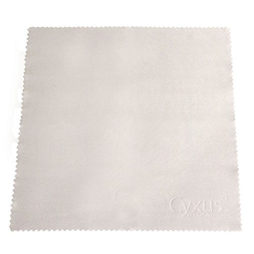 Cyxus Glasses Cleaning Cloth, Lenses Cell Phone Camera Tablets Laptops Cleaner (182 Eyeglasses)