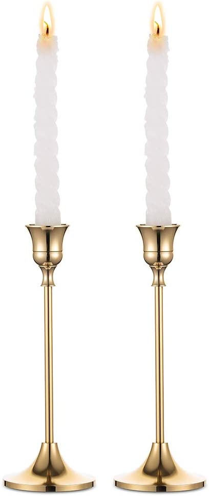 6 STÜCK Kerzenständer Messing Mit Windglass 27 CM  Klassisch NEU