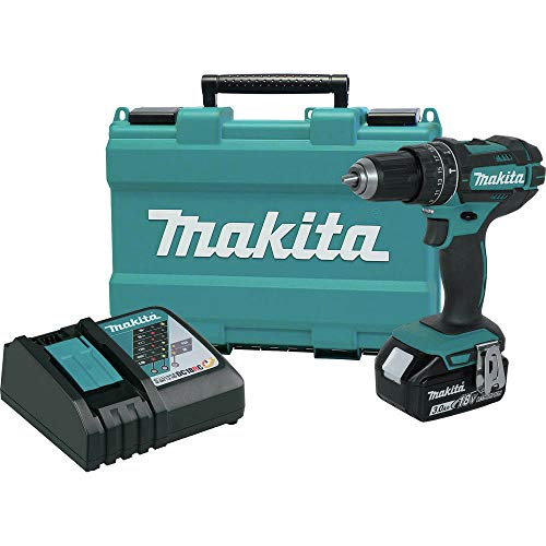 Makita XPH102-R 18V LXT Lithium-Ion Cordless 1/2 in. Hammer Driver-Drill Kit (Certified Refurbished) - Lxt Lithium Ion Drill
