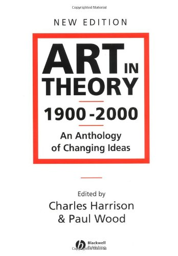 Art In Theory,1900 2000