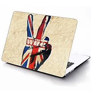 LZX UK Flag and The Who Yes Design Full-Body Protective Plastic Case for 11-inch/13-inch New MacBook Air , 13""