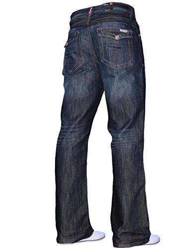 Wash Jeans Blu A31 Svasata Uomo Gamba Da Bootcut Colore Dark gqAPS4gp