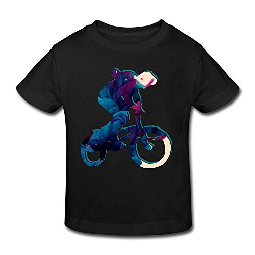 Cotton Cutie Toddler Girls Boys Tshirt Rider Back -