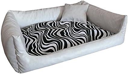 Canapé Pour Chien Rex Zebra Vache Lieu De Sommeil Coussin Pour Chien Panier Canapé Pour Chien Coussin Tailles S Xxl