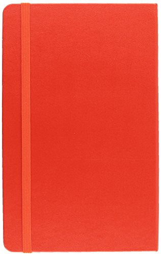 Moleskine Art Plus Sketchbook, Large, Plain, Red, Hard Cover (5 x 8.25) (Classic Notebooks)