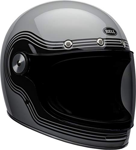Bell Bullitt Full-Face Motorcycle Helmet (Flow Gloss Gray/Black, Medium) (Bell Motor Cycle Helmet)